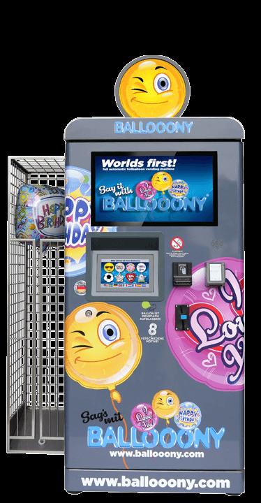 Automaten Einkommen mit baloony